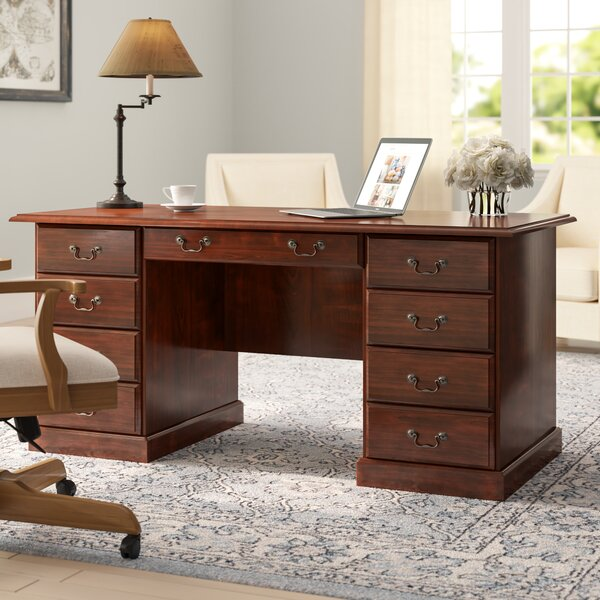 Clintonville Executive Desk by Darby Home Co