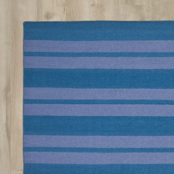 Blaisdell Hand-Woven Turquoise/Lavander Area Rug by Beachcrest Home