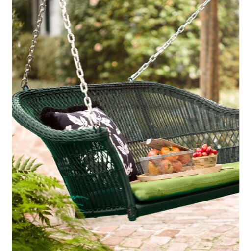 Porch Swing by Plow & Hearth