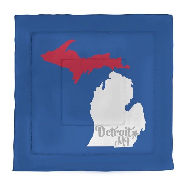 Detroit Single Reversible Comforter