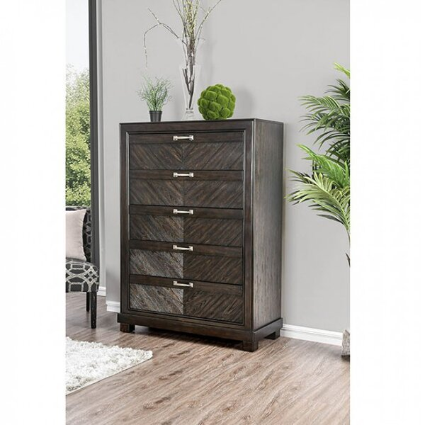 Theriot 5 Drawer Chest by Mercer41