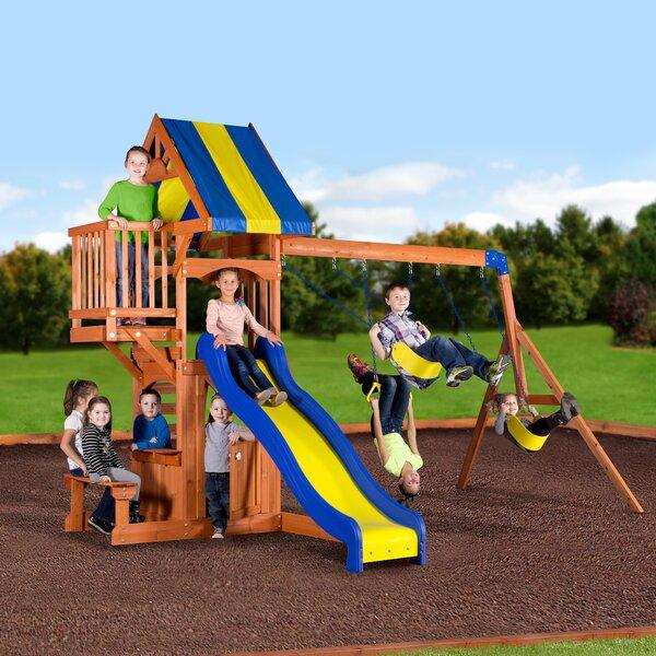 Peninsula All Cedar Swing Set by Backyard Discover