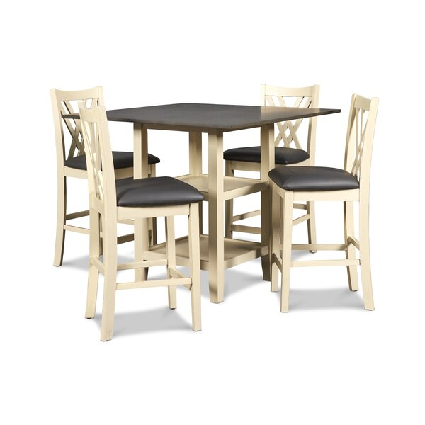 Aichele 5 Piece Dining Set By Winston Porter