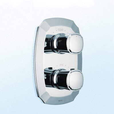 Guinevere Valve Trim with Dual Volume Control by Toto