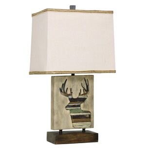 Price comparison Deer Motif 23.5 Table Lamp By Mossy Oak Nativ Living