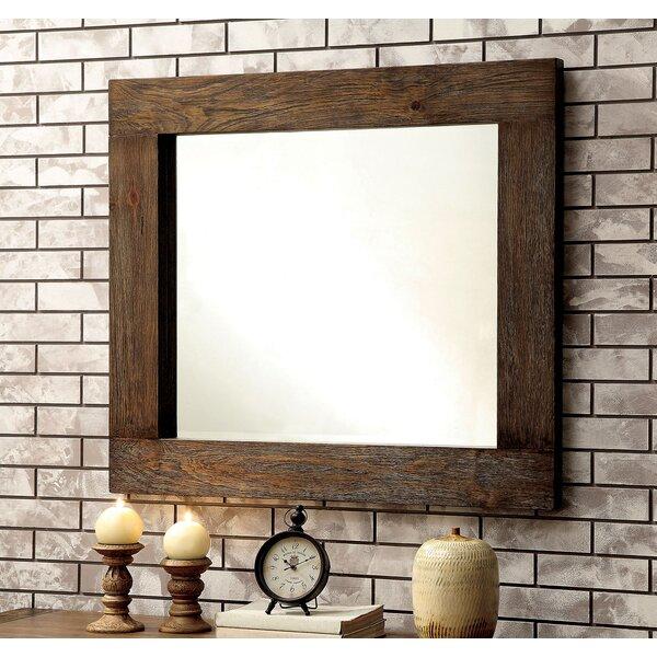 Blocher Rectangular Dresser Mirror by Foundry Select