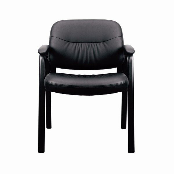 Gilliland Leather Guest Chair by Symple Stuff
