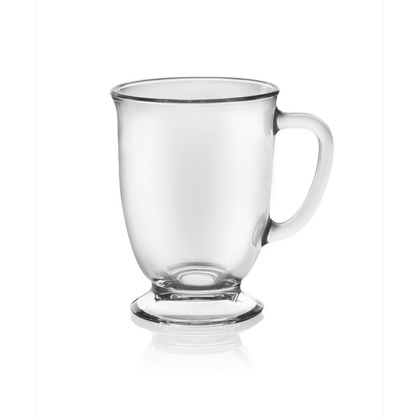 Kona 16 oz. Glass Mugs (Set of 6) by Libbey