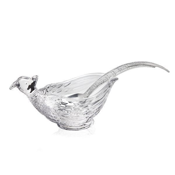 Pheasant Gravy Boat by Godinger Silver Art Co