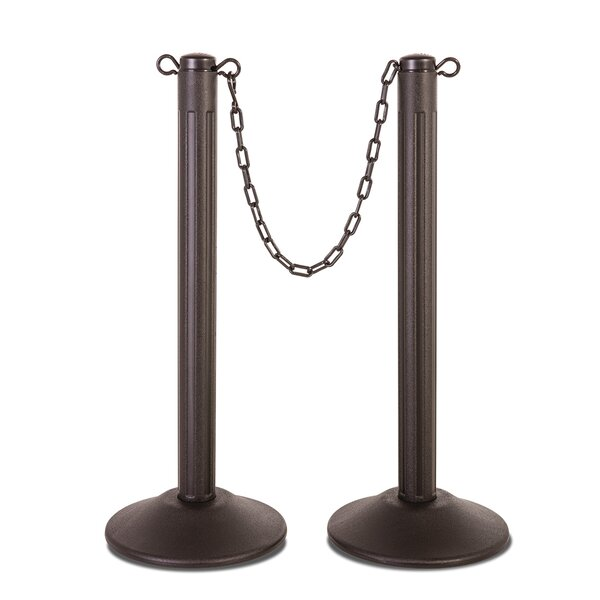 ChainBoss Molded Stanchion (Set of 2) by US Weight