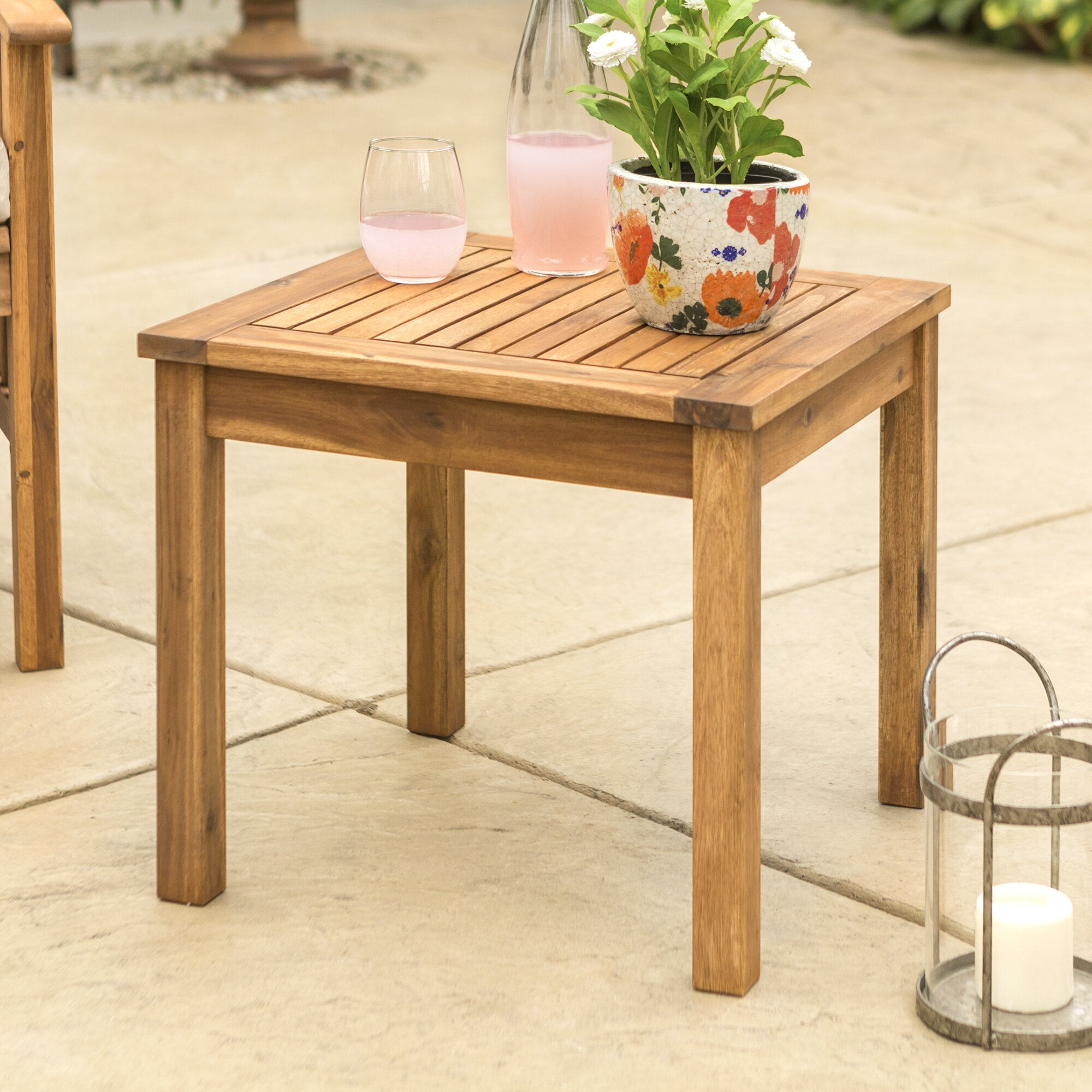 Outdoor Side Tables On Through 5