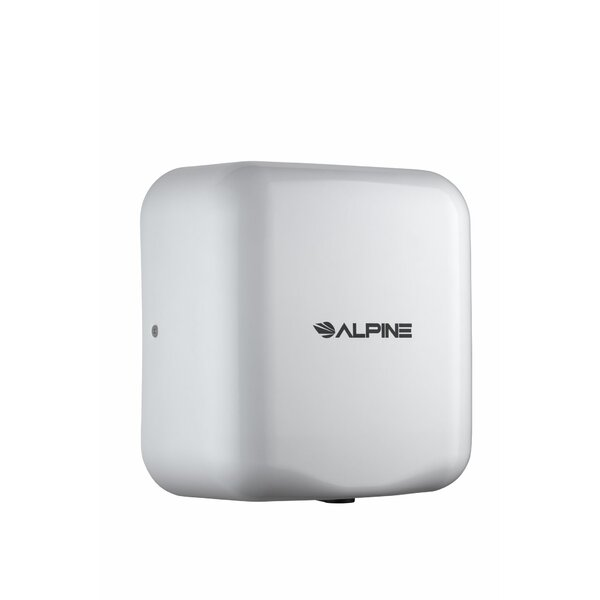 Hemlock 120 Volt Hand Dryer in White by Alpine Industries