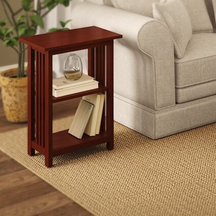 Kingsland End Table by Charlton Home