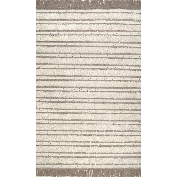 Samoset Hand Tufted Wool Ivory Area Rug by Union Rustic