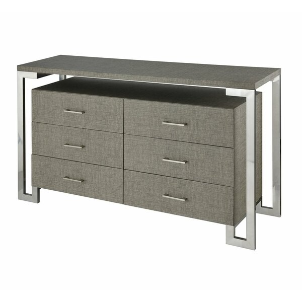 Kaira  6 Drawer Grand Bureau by Foundry Select