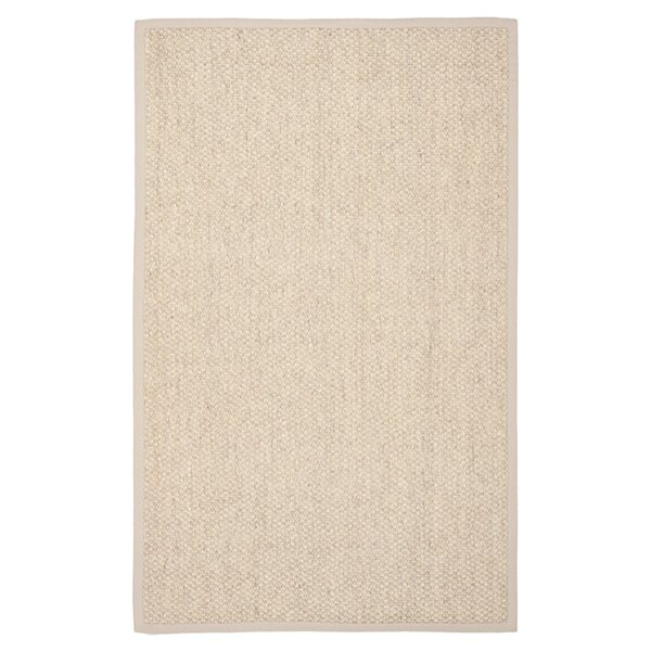 Richmond Faux Leather Brown Area Rug by Beachcrest Home