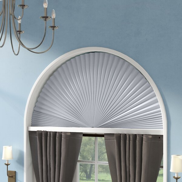Light Blocking Fabric Arch Shade by Charlton Home