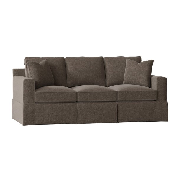 Kidsgrove 85-inch Square Arm Sofa Bed by Darby Home Co Darby Home Co