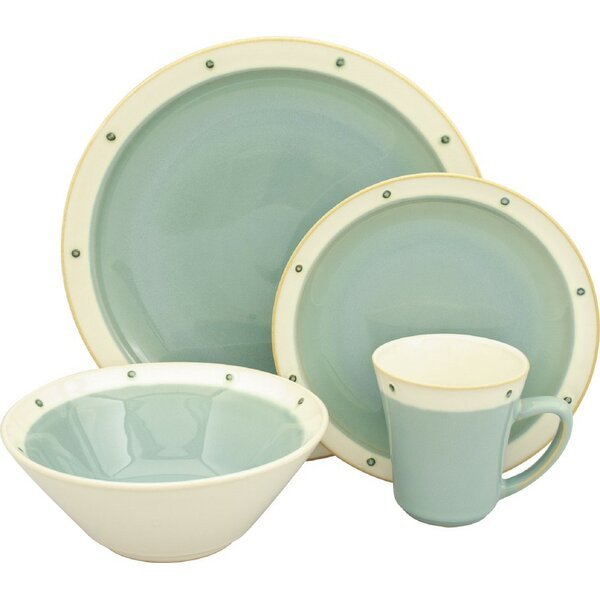 Newport 16 Piece Dinnerware Set, Service For 4 by Sango