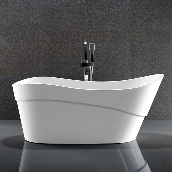 Kahl Series 67'' x 28'' Freestanding Soaking Bathtub by ANZZI