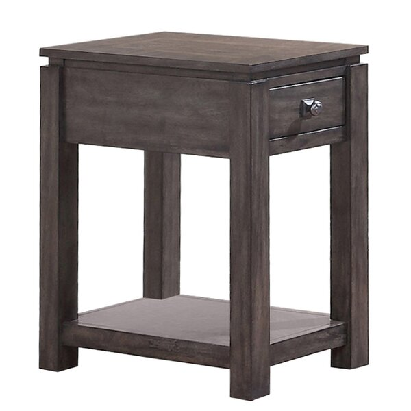 Cashel End Table by Gracie Oaks Gracie Oaks