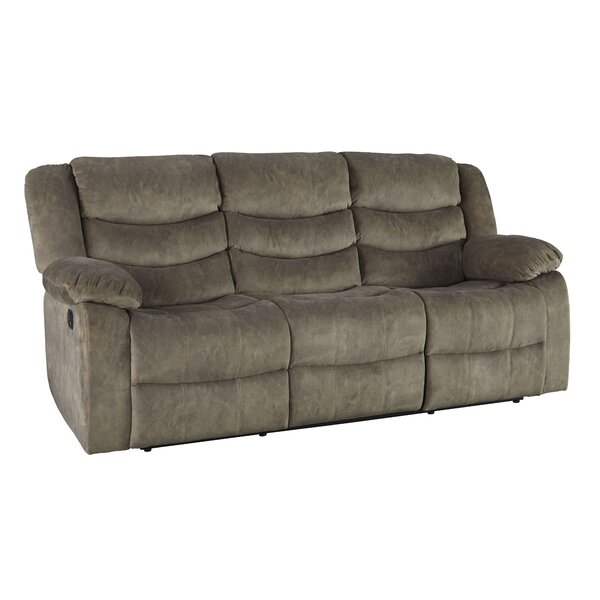Famous Brands Eila Reclining Sofa by Red Barrel Studio by Red Barrel Studio