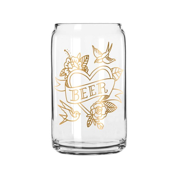 Hesse Beer 16 Oz. Pint Glass by Easy, Tiger