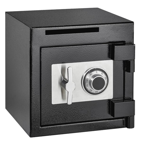 Rugged Compact Safe Box with Dial/Combination Lock by AdirOfficeRugged Compact Safe Box with Dial/Combination Lock by AdirOffice