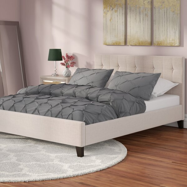 Mork Upholstered Platform Bed by House of Hampton