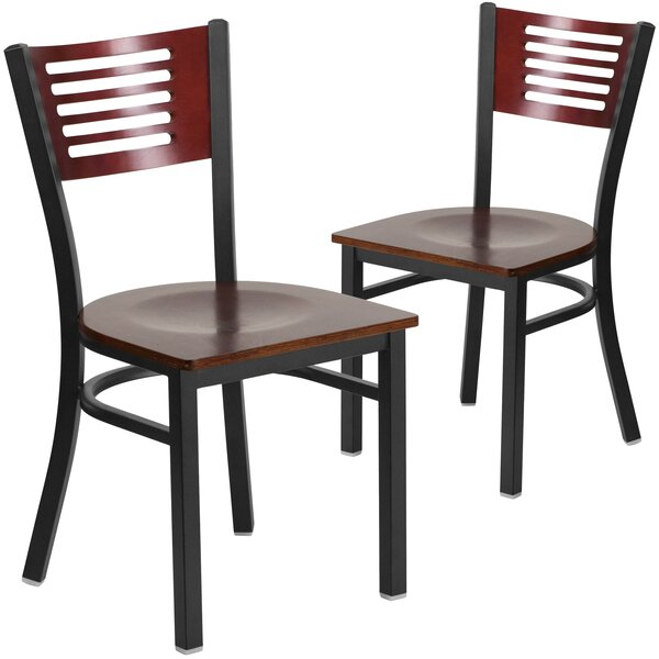Britni Solid Wood Dining Chair (Set of 2) by Red Barrel Studio