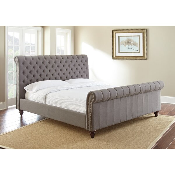 Karsten Upholstered Sleigh Bed by Darby Home Co