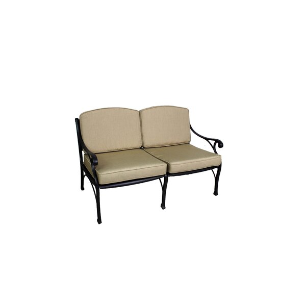 La Jolla Deep Seating Loveseat with Cushion by California Outdoor Designs