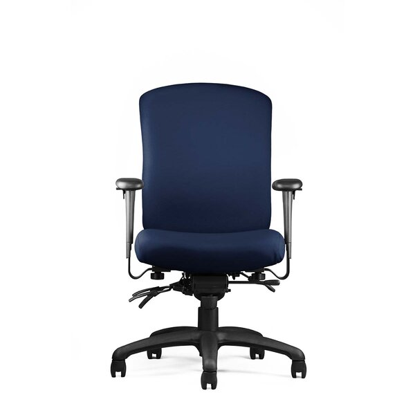 Alan Mid Back Ergonomic Office Chair by Symple Stuff