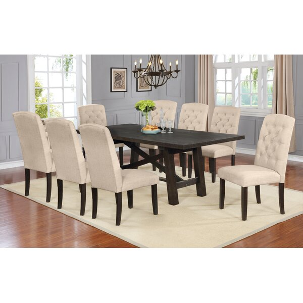Trombetta 9 Piece Drop Leaf Dining Set by Gracie Oaks Gracie Oaks