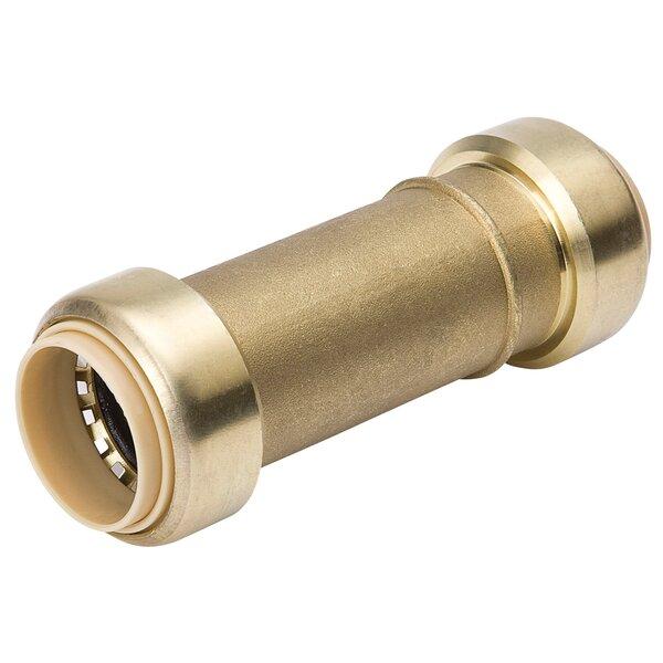 Low Lead Brass Repair Coupling by B&K Industries