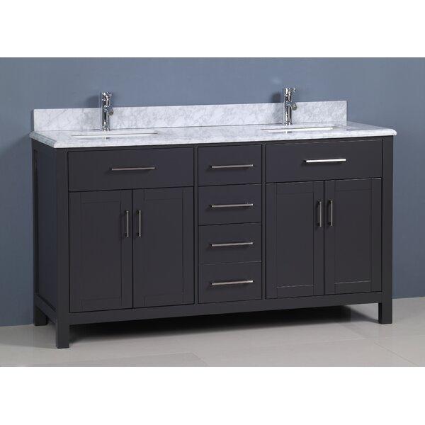 Flannery 60 Double Bathroom Vanity Set by Ebern Designs