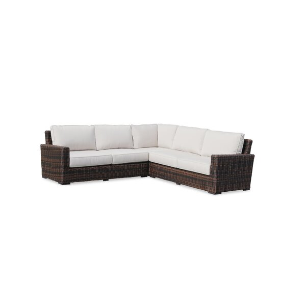 Montecito Patio Sectional with Cushions by Sunset West