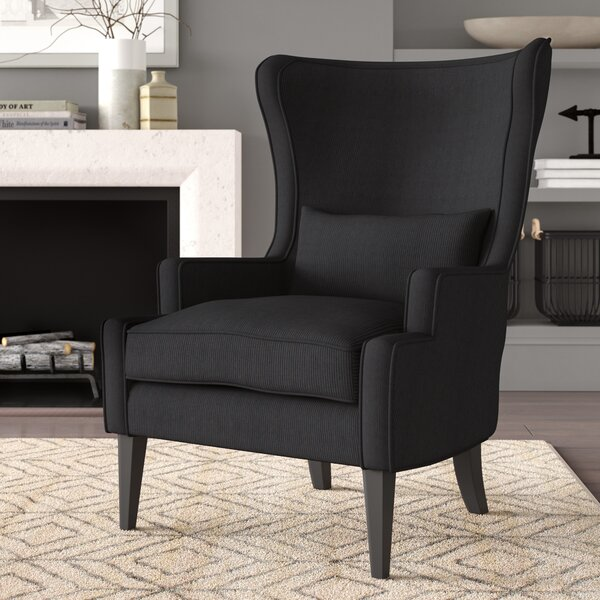 Fleshman Wingback Chair by Greyleigh Greyleigh