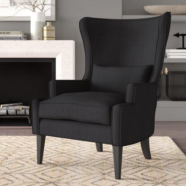 Fleshman Wingback Chair by Greyleigh Greyleigh