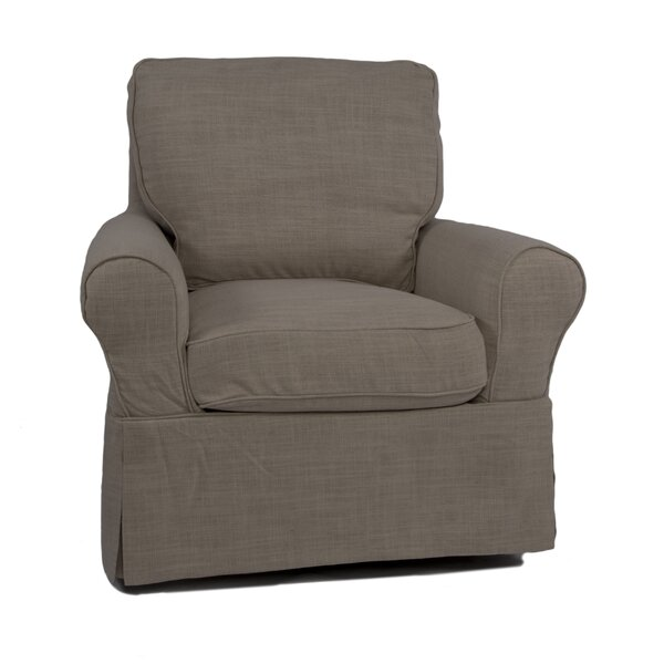 Rundle Box Cushion Armchair Slipcover By Beachcrest Home