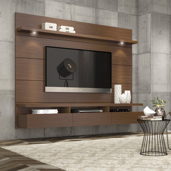 Julius Floating Entertainment Center For TVs Up To 70