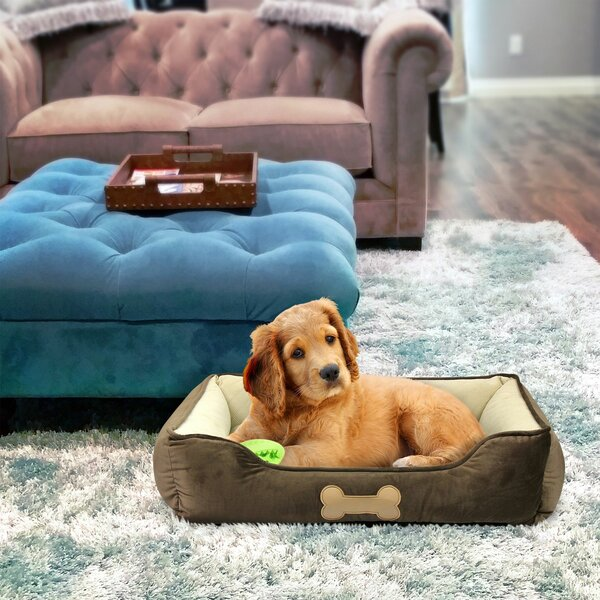Dunsmuir Pet Lounger Bed Bolster with Super Soft Padding by Tucker Murphy Pet