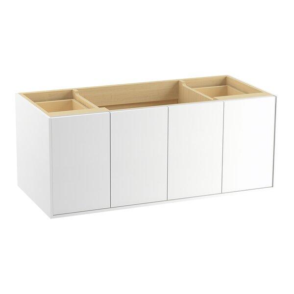 Jute 48 Vanity with 2 Doors and 2 Drawers, Split Top Drawer by Kohler