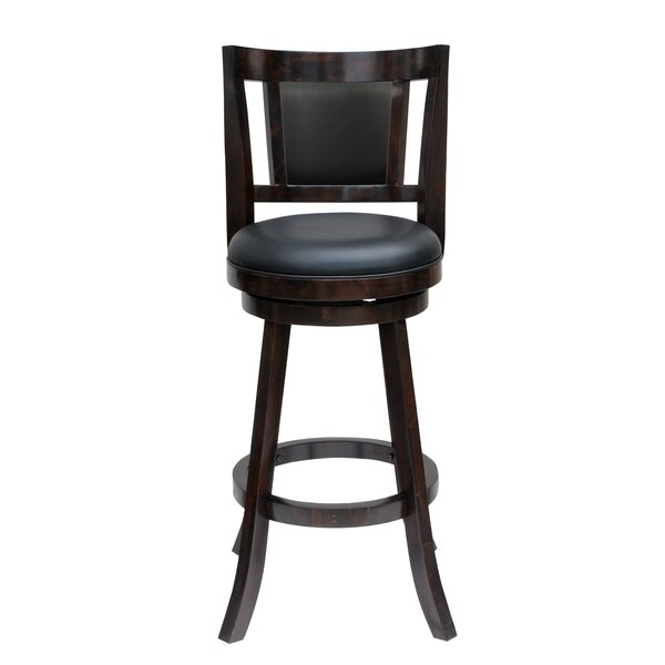 Goehring 24 Swivel Bar Stool by Andover Mills