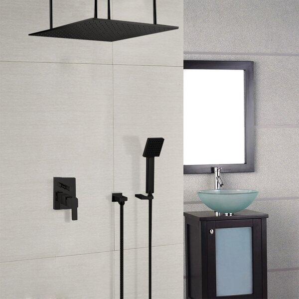 Color Changing Led Pressure-Balanced Complete Shower System With Rough-in Valve By FontanaShowers