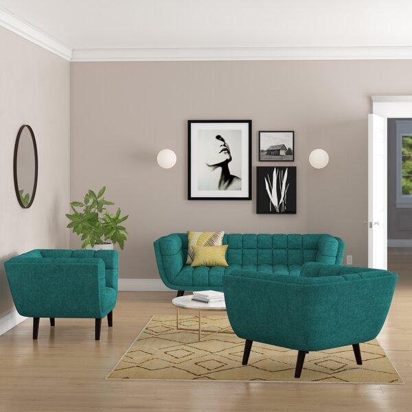 Seneca 3 Piece Living Room Set By Brayden Studio Today Only Sale