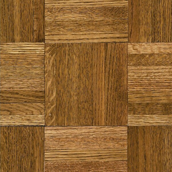 Urethane Parquet 12 Solid Oak Parquet Hardwood Flooring in Tawney Spice by Armstrong Flooring