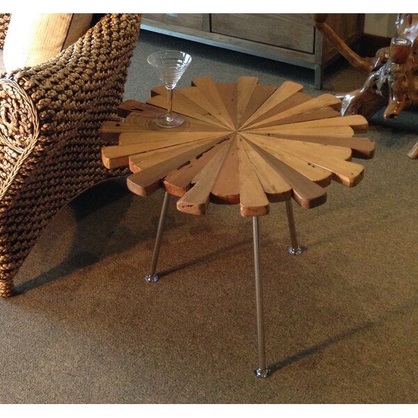 Matahari End Table by Chic Teak