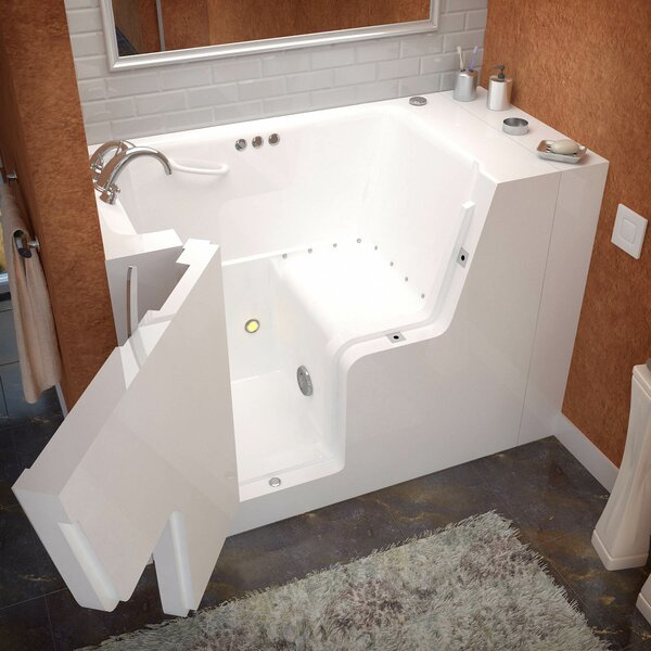Mohave 53 x 29 Walk-In Air Jetted Bathtub by Therapeutic Tubs