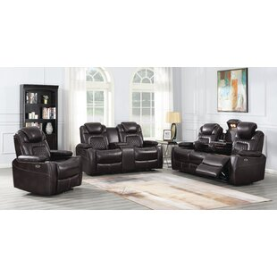 Lessing Reclining Configurable Living Room Set by Red Barrel Studio®